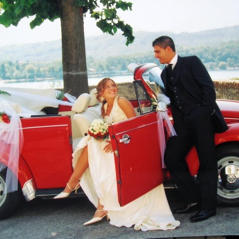 Maggiolone Rosso Sposi